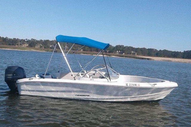 SPP A White Boat For Rent
