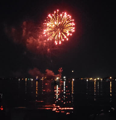 SPP Beautiful Fireworks At Bay