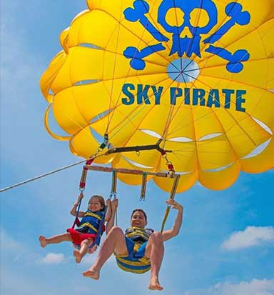 SPP Two People Parasailing