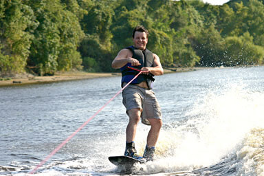 SPP A Man Water Skiing
