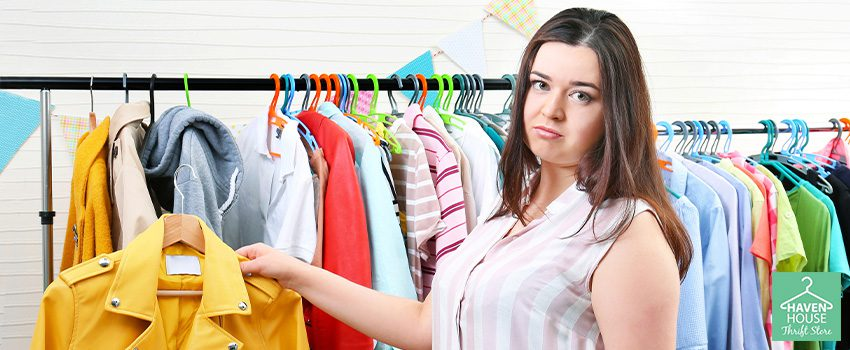 How to Thrift Shop for Plus Size Clothes