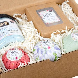 Herbal Fracture Bath Products Inside a Box