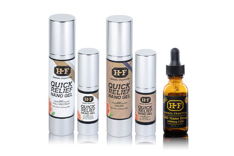 HF -CBD Fast Acting Products