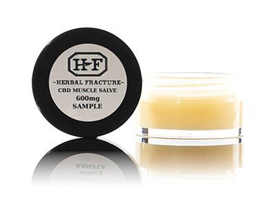 Herbal Fracture Isolate CBD Muscle Salve 600mg Free Sample White Label