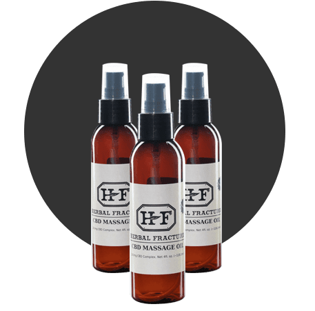 Herbal Fracture CBD Topicals Massage Oil product
