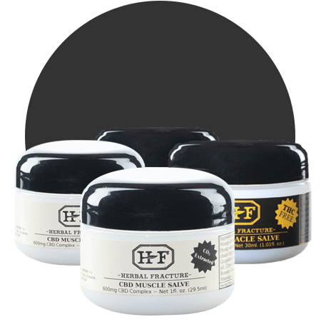 Herbal Fracture CBD Topicals Muscle Salve