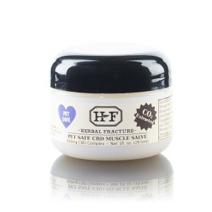 Herbal Fracture Pet Safe CBD Muscle Salve CO2 Extracted 600mg MG 3807